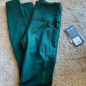 brand new eden green 90 degree leggings